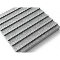 Тактильная гранитная плитка (продольный риф)